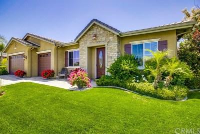 Temecula Single Family Home Active Under Contract: 33101 Monroy Circle