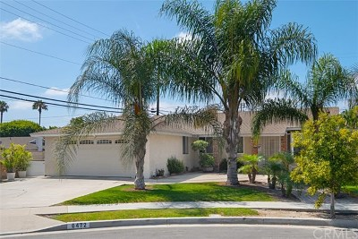 Huntington Beach Single Family Home For Sale: 6472 Yale Circle