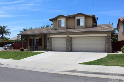 Winchester, French Valley Single Family Home For Sale: 35799 Avignon Court