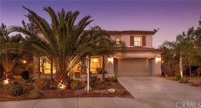 Wildomar Single Family Home For Sale: 21476 Windstone Drive