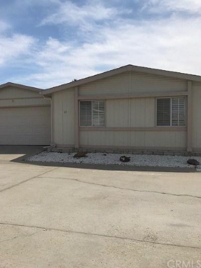 Menifee Single Family Home For Sale: 27250 Murrieta Road #77
