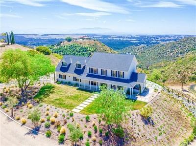 Murrieta Single Family Home For Sale: 21035 Corte Providencia