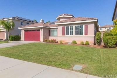 Wildomar Single Family Home For Sale: 35872 Nonnie Drive