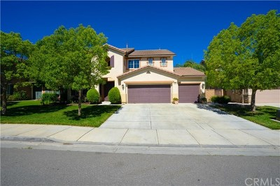 Menifee Single Family Home For Sale: 31835 Harden Street