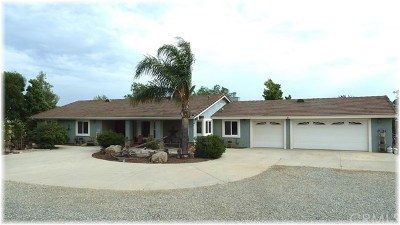 Hemet Single Family Home For Sale: 40645 Ivel Road