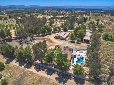 Temecula CA Single Family Home For Sale: $999,000