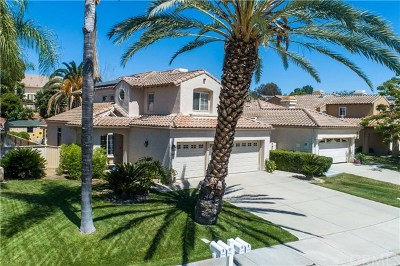 Riverside, Temecula Single Family Home For Sale: 32100 Corte Soledad