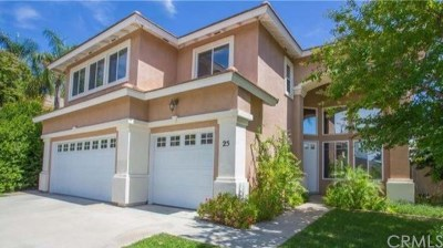 Lake Elsinore Single Family Home For Sale: 25 Corte Rivera