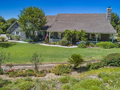 Temecula Single Family Home For Sale: 19885 Corte Florecida