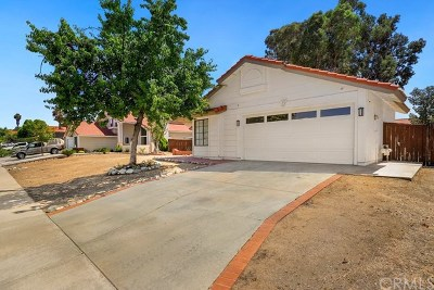 Wildomar Single Family Home For Sale: 35570 Ruth Avenue