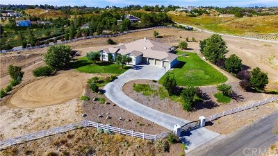 Temecula Single Family Home For Sale: 33550 Orlinda Drive