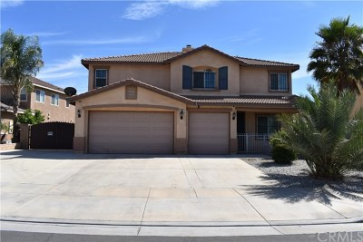 Hemet, San Jacinto Single Family Home For Sale: 368 Meadow View Drive