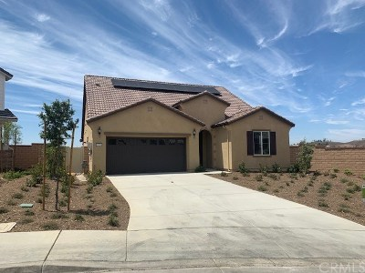 Menifee Single Family Home For Sale: 24500 Round Meadow