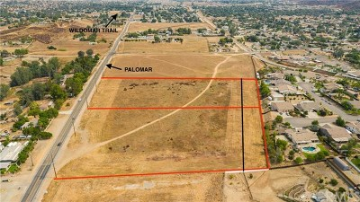 Wildomar Residential Lots & Land For Sale: Palomar