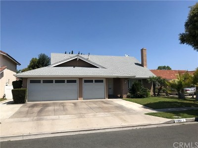 Fountain Valley Single Family Home For Auction: 11061 Lavender Avenue