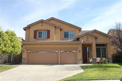 Menifee Single Family Home For Sale: 25851 Balsam Fir Circle
