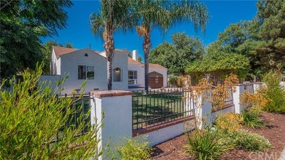 Riverside Single Family Home For Sale: 8509 California Avenue