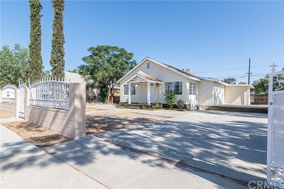 Perris Single Family Home Active Under Contract: 130 W 11th Street