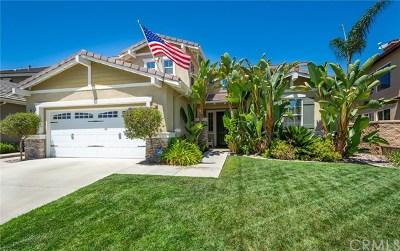 Murrieta Single Family Home For Sale: 26823 Lemon Grass Way