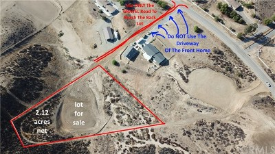 Temecula Residential Lots & Land For Sale: Cumorah Court