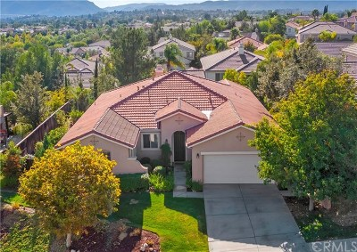 Temecula CA Single Family Home For Sale: $539,900