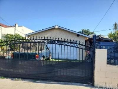 Compton Single Family Home For Sale: 814 W Poplar Street