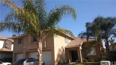 Menifee Single Family Home For Sale: 27189 Lavender Street