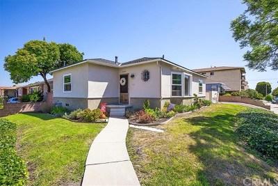 Single Family Home For Sale: 1340 S Alma Street
