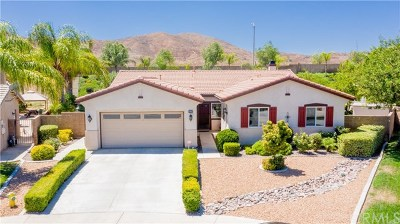 Menifee Single Family Home For Sale: 25563 Mountain Glen Circle