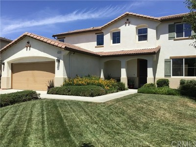 Winchester Single Family Home For Sale: 31560 Maka Circle