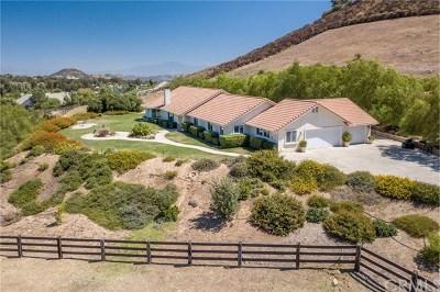 Murrieta, Temecula Single Family Home For Sale: 39370 Avenida Bonita