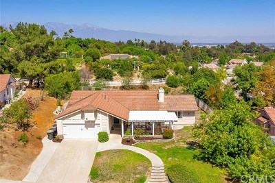 Chino Hills Single Family Home For Sale: 3318 Gabriel Drive