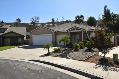 Corona Single Family Home For Sale: 27707 Blue Mesa Drive