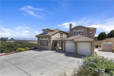 Fallbrook Single Family Home For Sale: 5006 Hill Ranch Drive