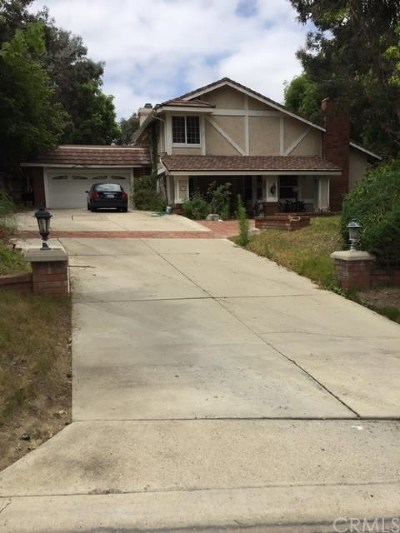 Anaheim Hills Single Family Home Active Under Contract: 431 S Canyon Ridge Drive