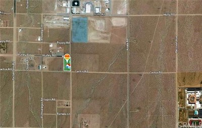 Adelanto Residential Lots & Land For Sale: Cactus W/Beaver Road
