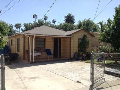 Pasadena Single Family Home For Sale: 264 Palisade Street