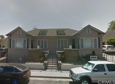 Los Angeles Multi Family Home Active Under Contract: 508 N Kingsley Drive