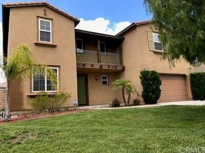 Riverside Single Family Home For Sale: 16068 Blue Mountain Court