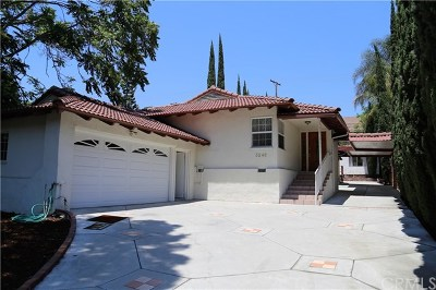 Glendale Single Family Home For Sale: 3249 Mills Avenue
