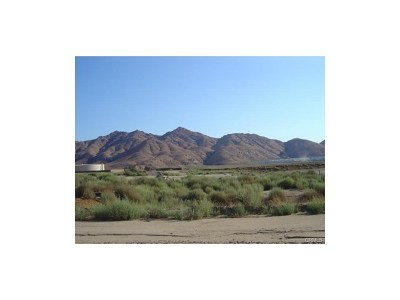 Newberry Springs Residential Lots & Land For Sale: Hacienda Road