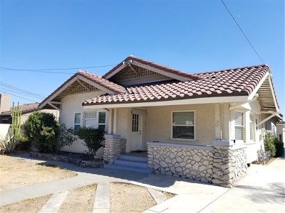 Pomona Single Family Home Active Under Contract: 924 E 9th Street
