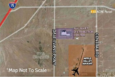 Apple Valley Residential Lots & Land For Sale: 19874 Central Road