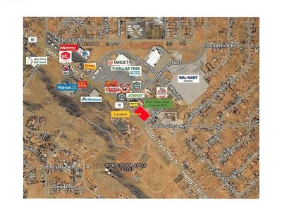Apple Valley Residential Lots & Land For Sale: Outer Us Highway 18