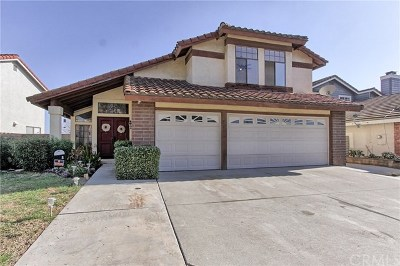 Chino Hills Single Family Home For Sale: 13553 Morning Mist Way