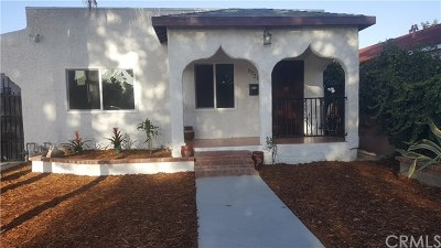North Hollywood Single Family Home For Sale: 5721 Cleon Avenue