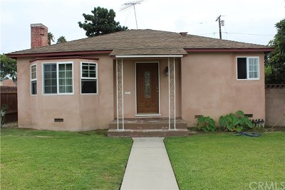Long Beach Single Family Home For Sale: 250 W Fuego Street