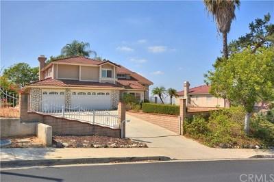 Diamond Bar CA Single Family Home For Sale: $1,200,000