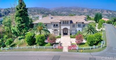 Diamond Bar CA Single Family Home For Sale: $7,680,000