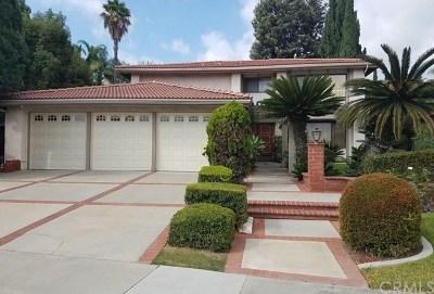 Fullerton Single Family Home For Sale: 2017 Mariposa Lane
